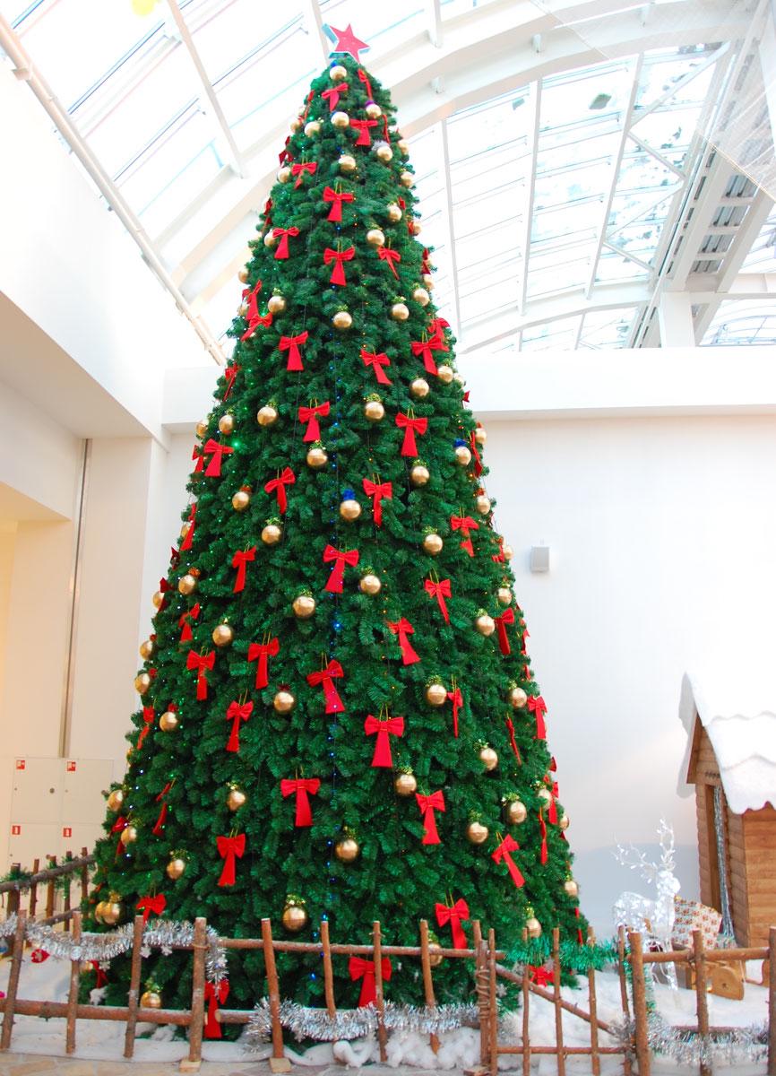 Каркасная новогодняя елка